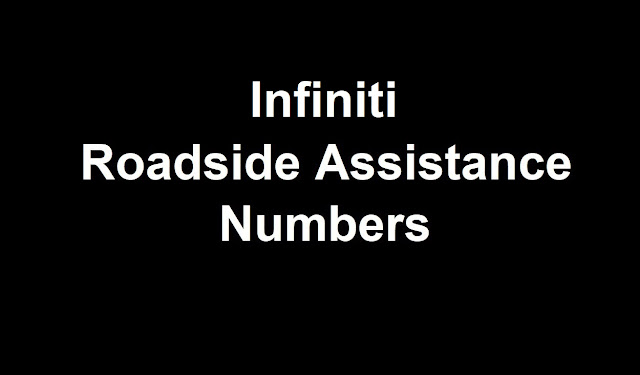 Infiniti Roadside Assistance Number