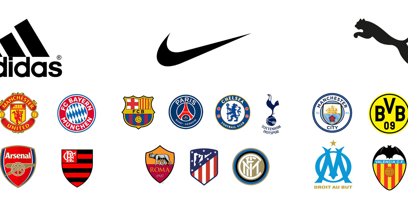 Adidas, Nike & Puma - Each Brand's Top Clubs From 2019-20 ...