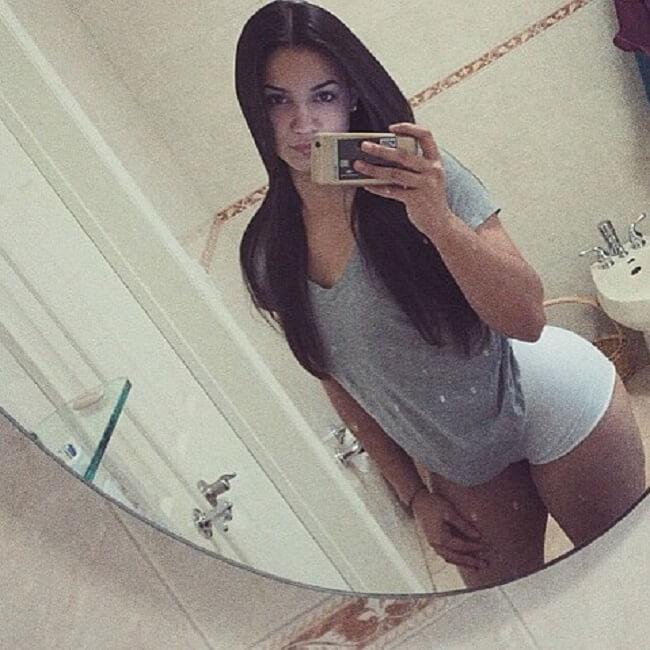 A modelo fitness Natascha Encinosa