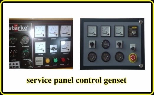 melayani servic panel ac/dc genset