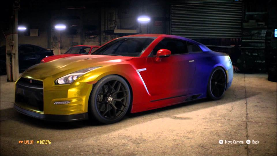"Camaro Monster Truck >> MUSCLE CAR COLLECTION : Nissan ""Godzilla"" GTR R35 Colored Rainbow"