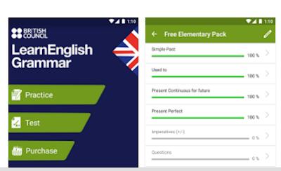 gambar aplikasi LearnEnglish Grammar
