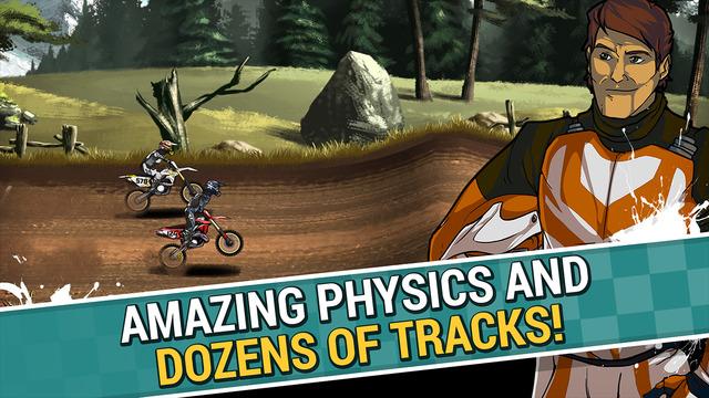 لعبة الدراجات 2 Mad Skills Motocross