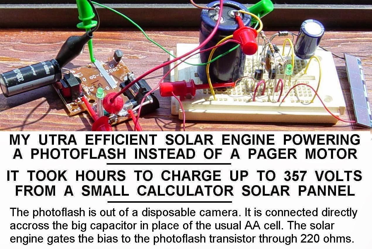 simple solar engine circuit diagram