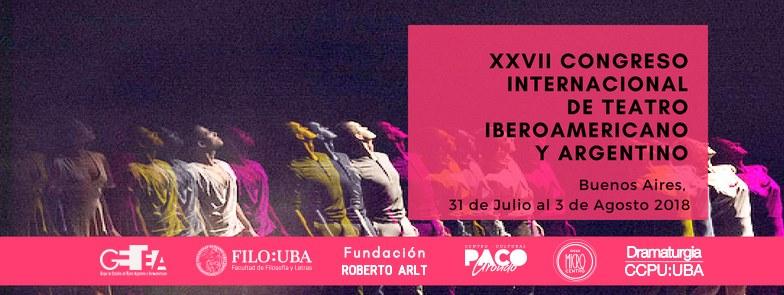 XXVIII Congreso Internacional de Teatro Iberoamericano y Argentino
