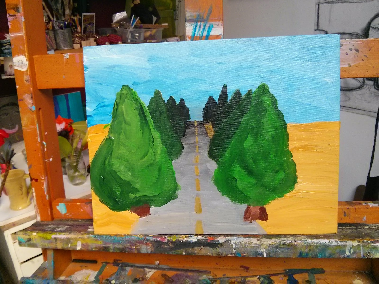 Studio Kids Children S Art Classes In Ballard Seattle Painting