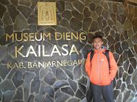 Museum Kailasa, mengenal peninggalan leluhur Dieng