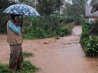 Garut Banjir Lagi, Banjir Menerjang Wilayah Kecamatan Cikajang Kabupaten Garut