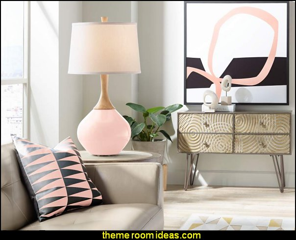 Blush pink decorating - blush pink decor - blush and gold decor - blush pink and gold bedroom decor -  blush pink gold baby girl nursery furniture - blush art prints - rose gold bedroom decor -
