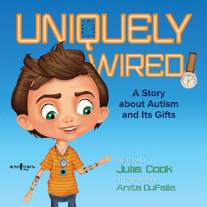 In Uniquely Wired, we get to see life through Zak's eyes and learn what life feels like for him. It's a great read aloud for any teacher or parent who would like to introduce the idea that different doesn't mean bad, and that while we all think and act differently, we all have a lot in common and we all have gifts to share with one another. #UniquelyWired #NetGalley #ChildrensLit #Autism #Book