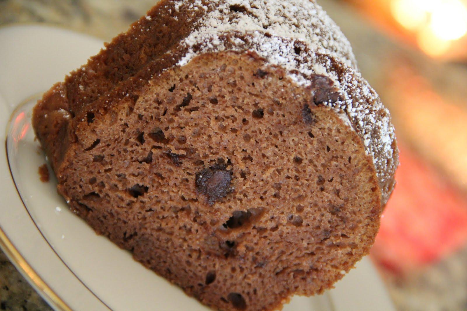 Mix And Match Mama Chocolate Chip Bundt Cake