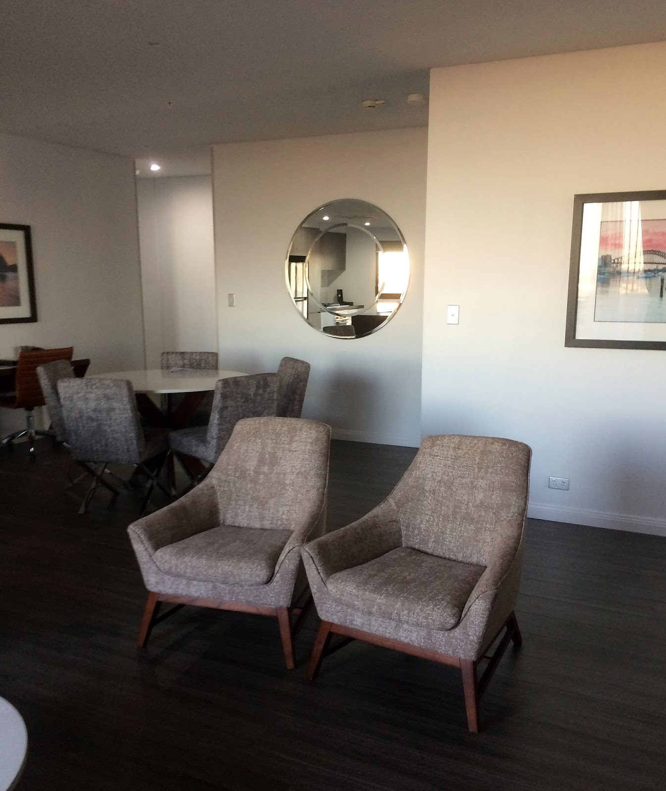 Meriton Church Street Parramatta Living Dining Area