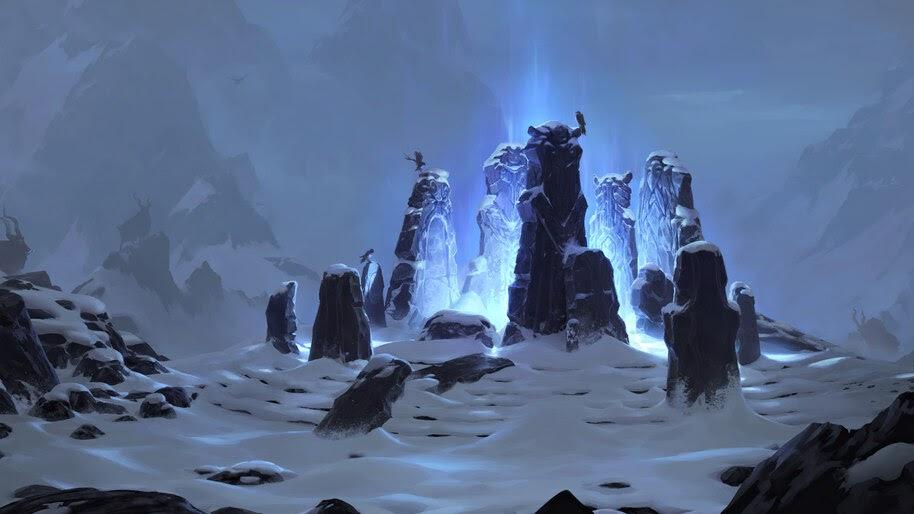 Wryding Stones, Legends of Runeterra, 4K, #3.1696