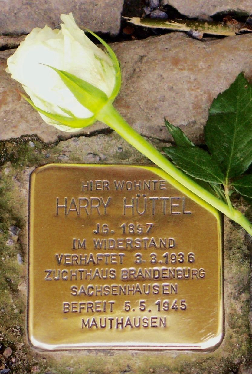 Stolperstein Harry Hüttel Berlin