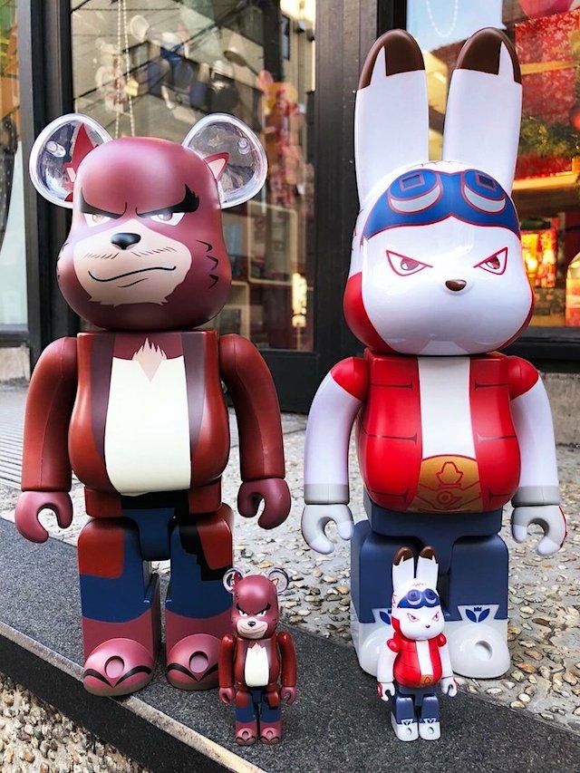 23b8c44e Kumatetsu BE@RBRICK & King Kazuma R@BBRICK from Medicom Toy in 1000% & 400%