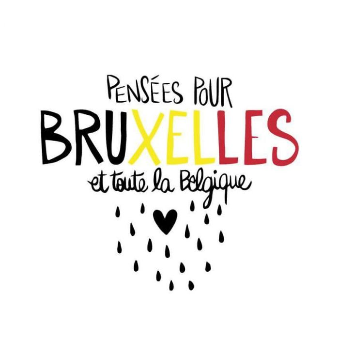 #PrayForBrussels Let's Show The World That We Are UNITED! - #17 Thoughts With Brussels And Belgium