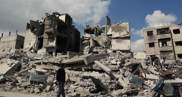 Serangan Udara Rusia Bunuh 18.000 Orang Di Suriah Dalam Tiga Tahun