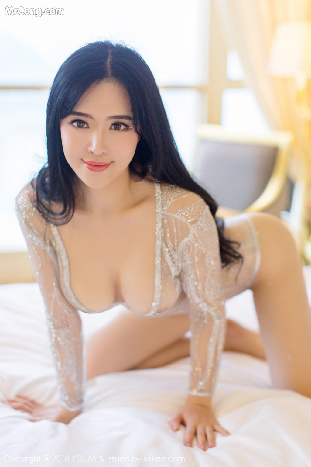 Image YouMi-Vol.124-Liu-Yu-Er-MrCong.com-012 in post YouMi Vol.124: Người mẫu Liu Yu Er (刘钰儿) (41 ảnh)