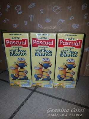 Pascual batido sabor chocolate blanco Caja Degustabox Agosto ´16 - Vuelta al Cole