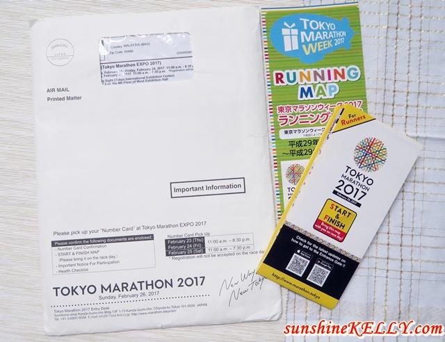 Training Days for Tokyo Marathon 2017
