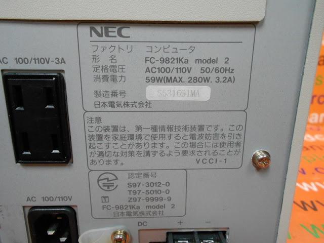 NEC FC-9821ka model 2