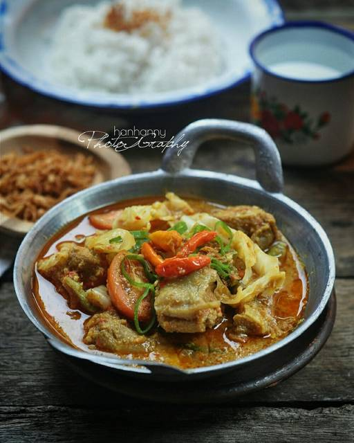 Tongseng Ayam Pedas : tongseng, pedas, Resep, Tongseng, Hanny