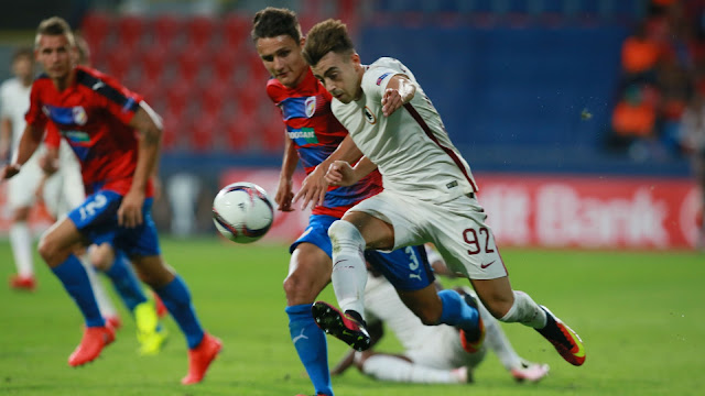 Europa League Plzen Roma 1-1 highlights