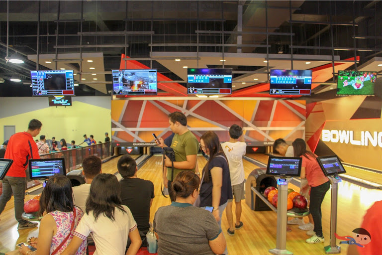 Bowling Alley in Timezone, Circuit Makati