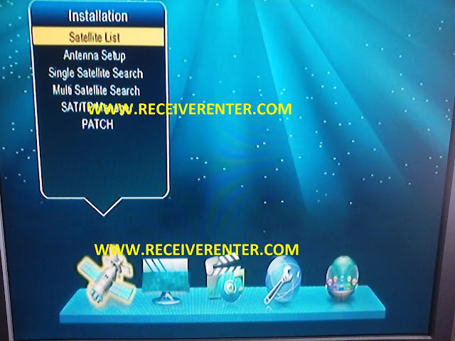 star track china receiver software