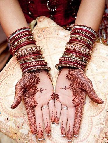 Bridal Mehndi Henna Hand Designs