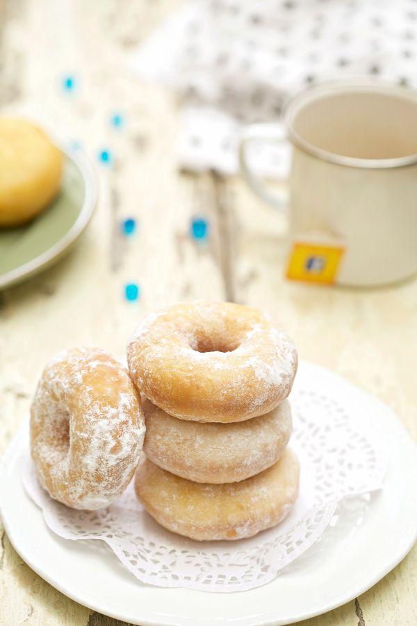 Donut Sempoi lembut dan sangat gebu. - masam manis