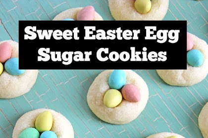Sweet Easter Egg Sugar Cookies Recipe