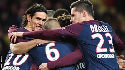 Highlight AS Monaco 1-2 Paris St. Germain, 26 November 2017