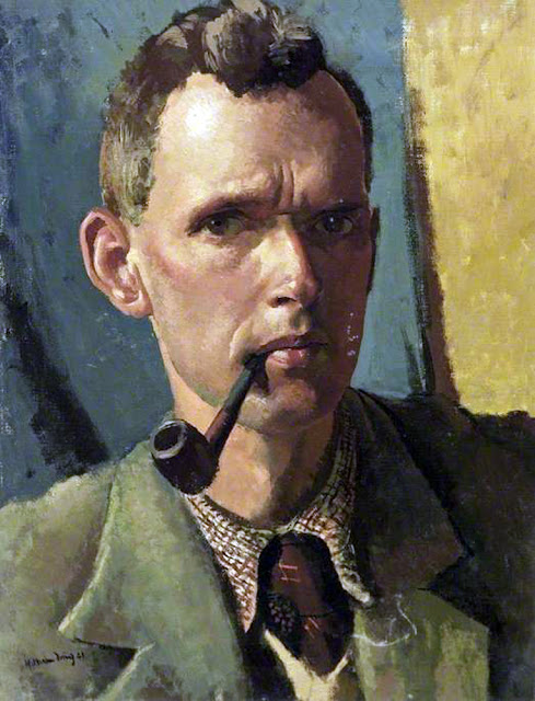 Dennis William Dring, Self Portrait, Portraits of Painters, Fine arts, William Dring
