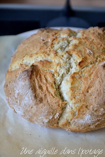 Irish soda bread (pain express)