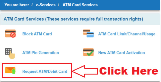 sbi emv chip debit card apply online