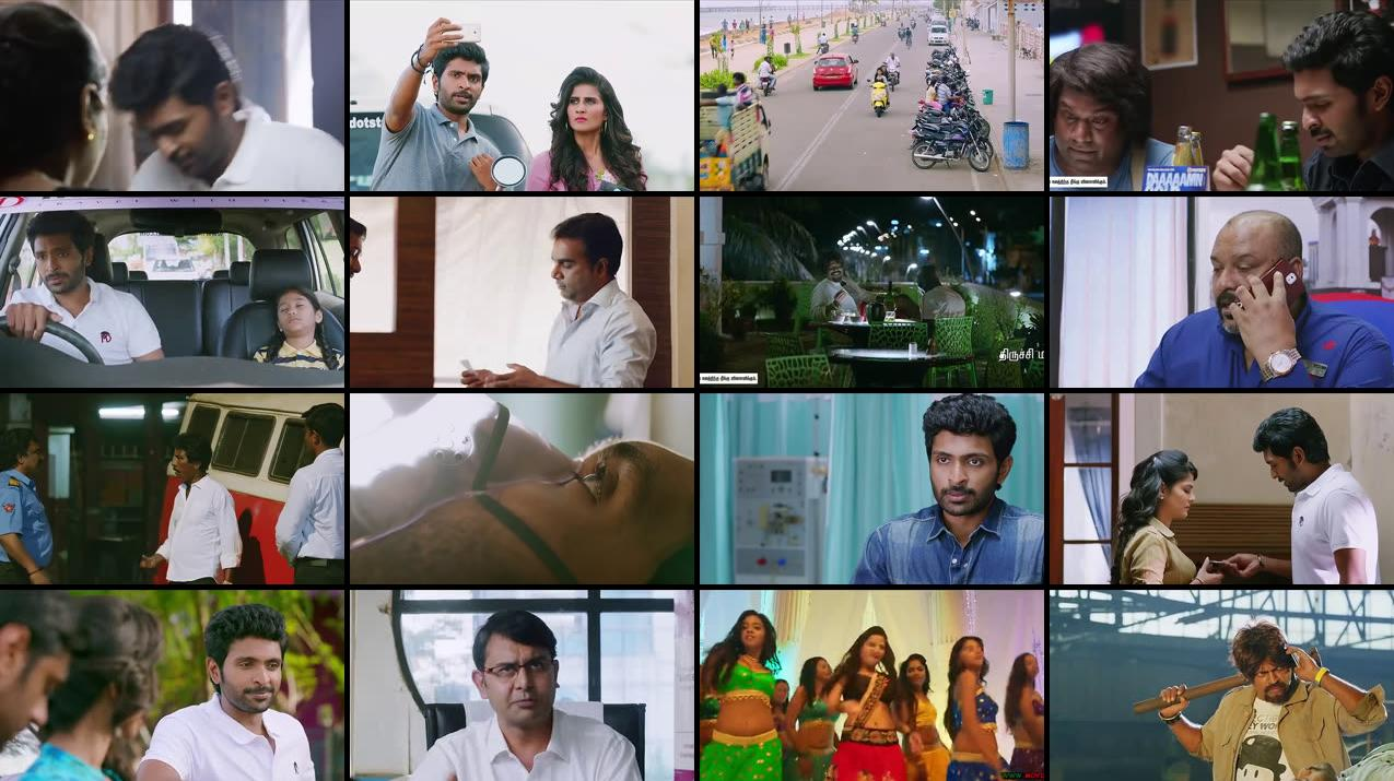 Veera Sivaji 2016 Dual Audio UNCUT HDRip 630MB x265 Movie Screenshots