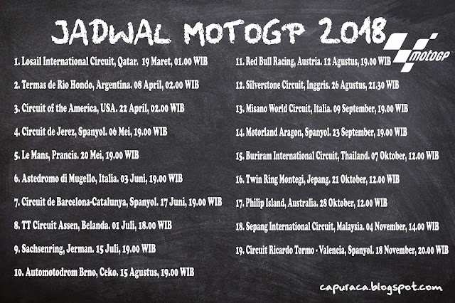 jadwal motogp 2018 capuraca