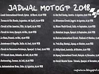 Jadwal Motogp 2018 seri ke 15 adalah persinggahan baru