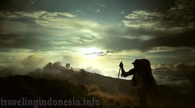 Beatyful Mountain in Indonesia