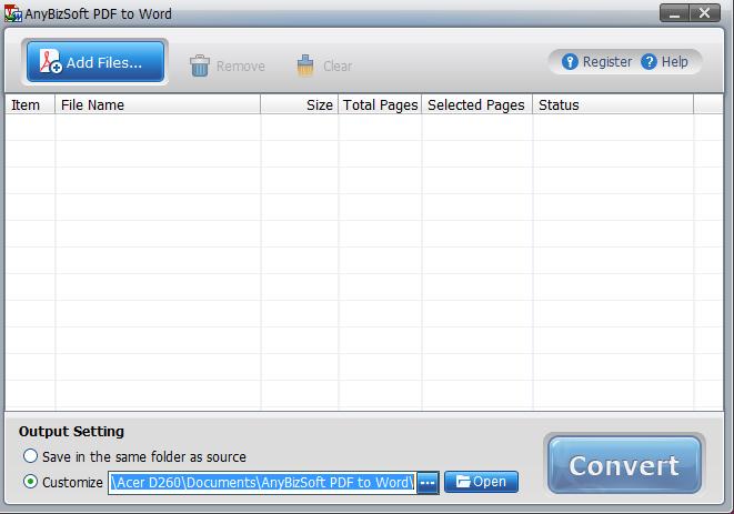 anybizsoft pdf to word converter free 3.5.0