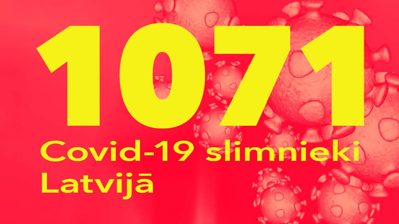 Koronavīrusa saslimušo skaits Latvijā 02.06.2020.