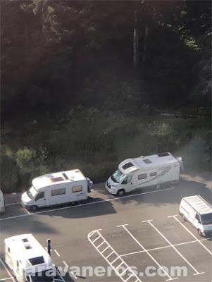 Parking autocaravanas Chamonix | caravaneros.com