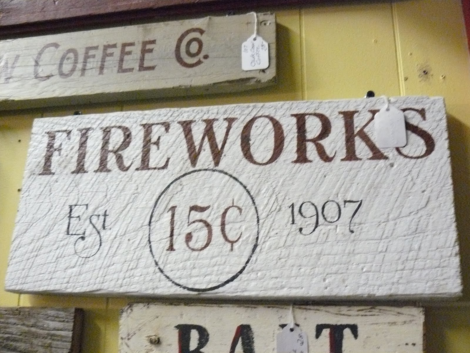 Store Antique Slogans