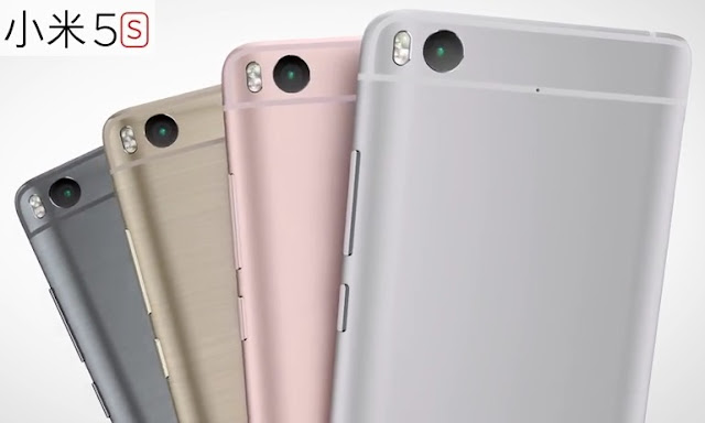 Tampilan Belakang Xiaomi Mi 5S dan Xiaomi Mi 5S Plus Terbaru