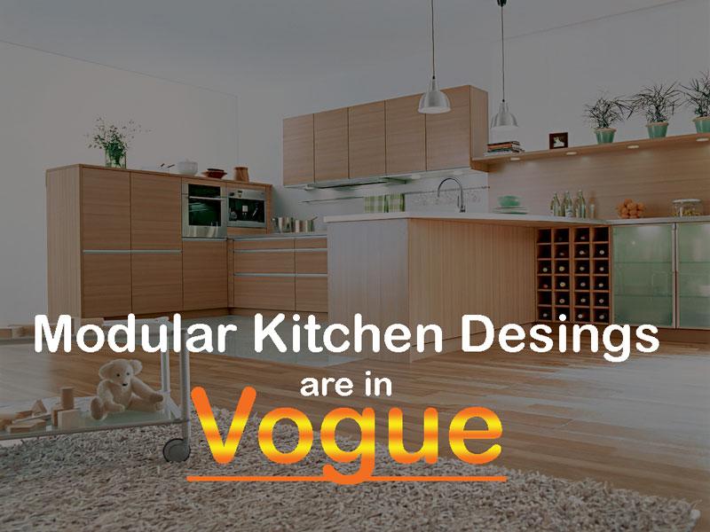 Modular Kitchen Designs, Vogue, Kitchen Designs, Modular Kitchens