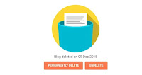 Delete-blogspot-last-menu