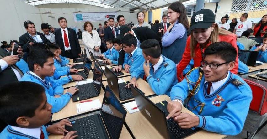 MINEDU: Ministra de Educación exhorta a estudiantes a innovar para desarrollar la creatividad - www.minedu.gob.pe