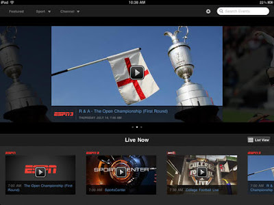 WatchESPN for iPad