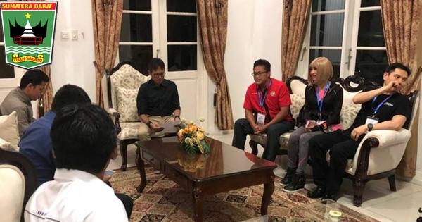 Terima Rombongan Dato Sri Dr. Alex Ong, Gubernur Irwan Apresiasi MBCC